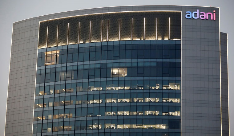An Adani Group building on the outskirts of Ahmedabad | Reuters