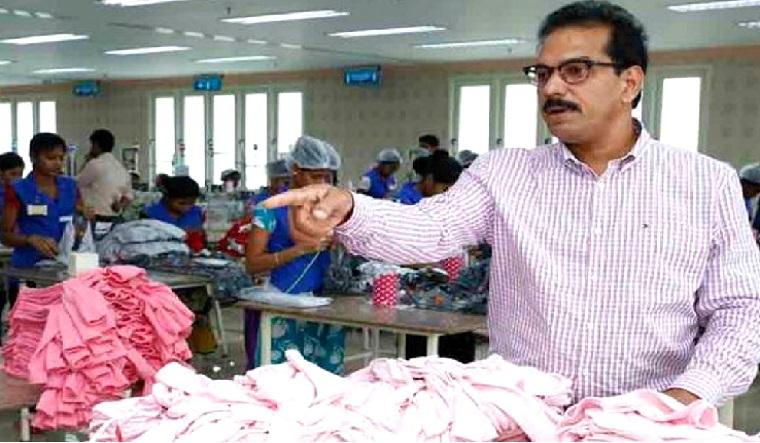 Kitex group chairman Sabu Jacob