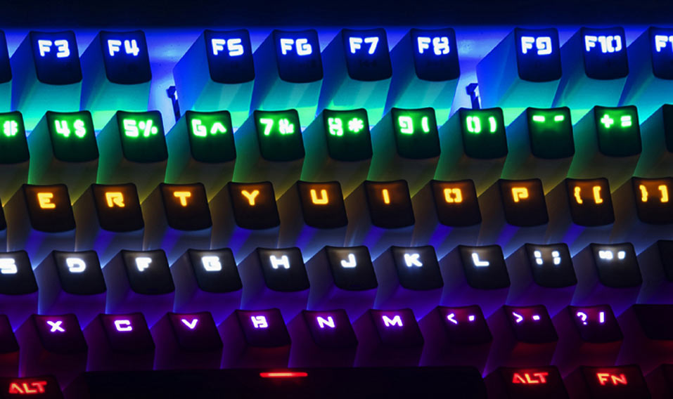 Mechanical keyboard? It's part of the retro revival