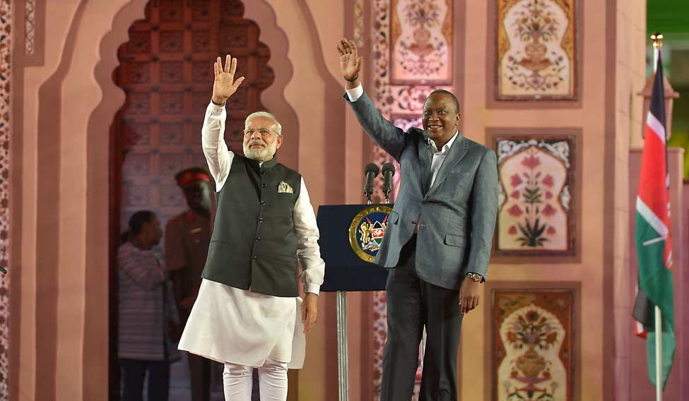 KENYA-INDIA-POLITICS-DIPLOMACY