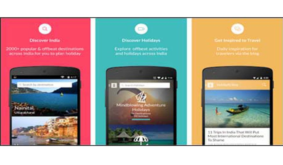 Travel and hotel apps make travel planning easy