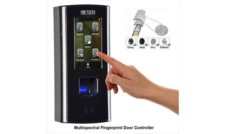 matrix-fingerprint-door-controller