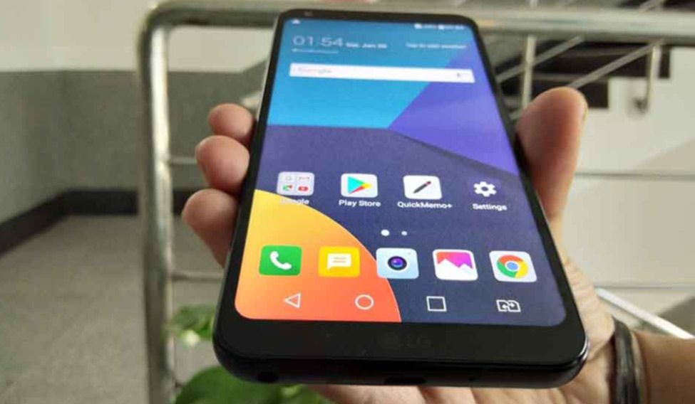 LG Q6: Impressive 'FullVision' display