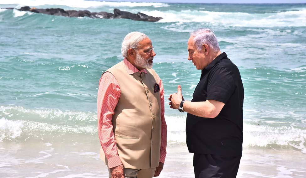 ISRAEL-INDIA-DIPLOMACY-DEFENCE