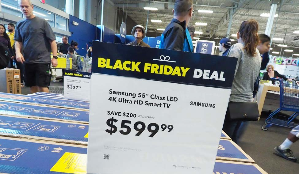 Us Black Friday Thanksgiving Online Sales Climb To Record High