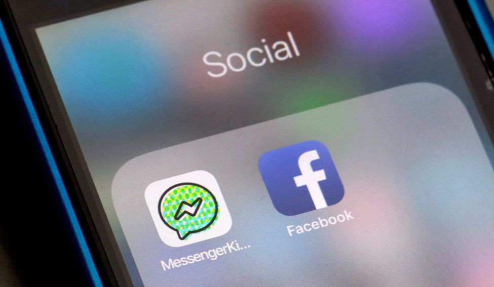 Facebook released a Kids messaging app