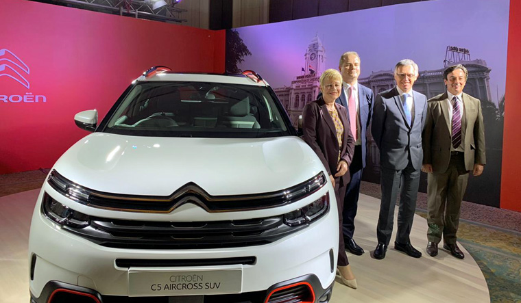 Citroen to launch C5 Aircross SUV in India