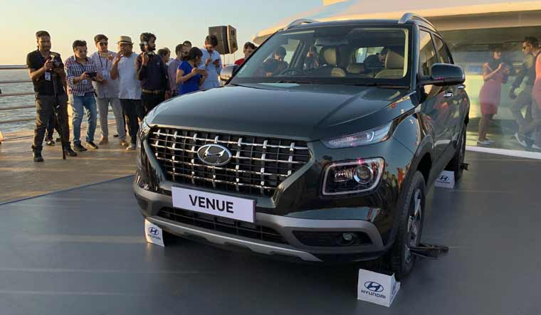 Hyundai Venue for India unveiled; launch date, price details