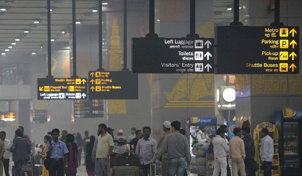 Delhi IGI airport