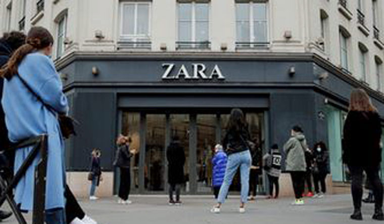 Inditex's online sales up 50% during store closures