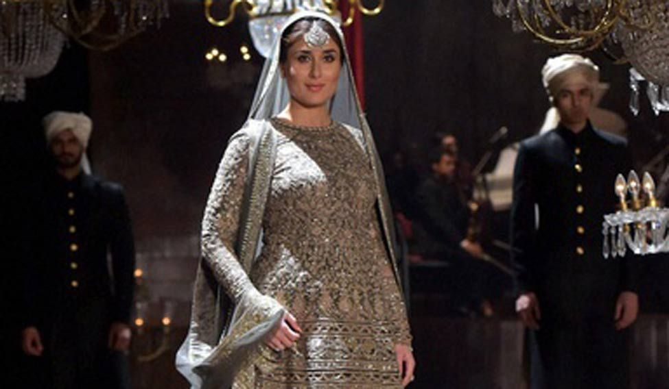 Kareena gets emotional as she walks the ramp with baby bump