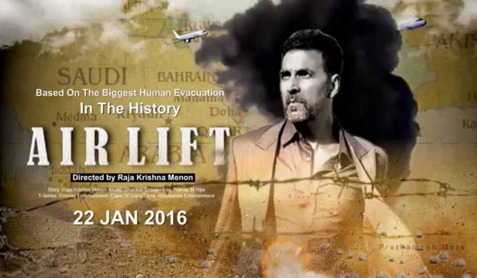 'Airlift' mints Rs 12.35 crore on opening day