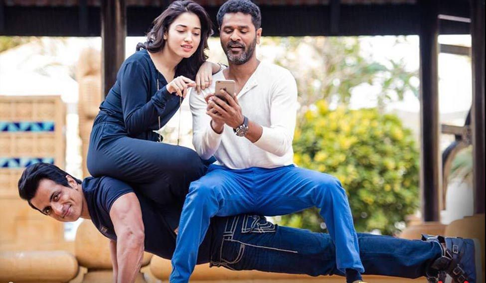 Nothing more exciting than working with Prabhudheva: Tamannaah