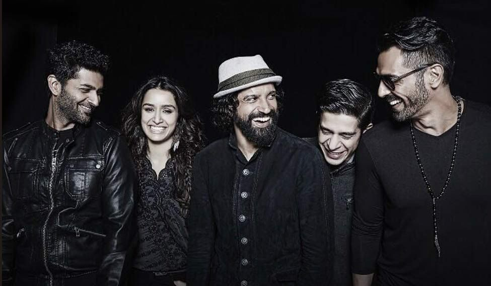 The picture was posted by actor Farhan Akhtar on his Twitter page @FarOutAkhtar