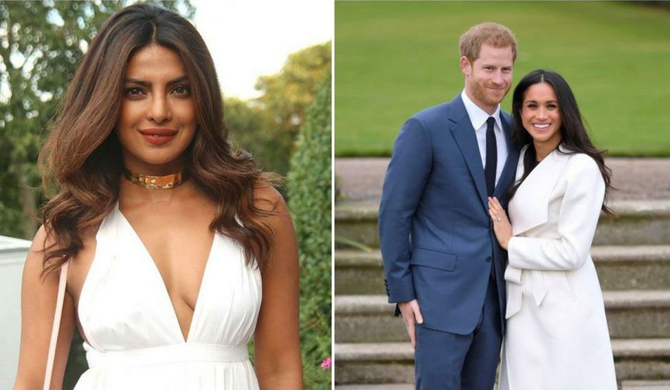 Priyanka Chopra as Meghan Markle's bridesmaid?