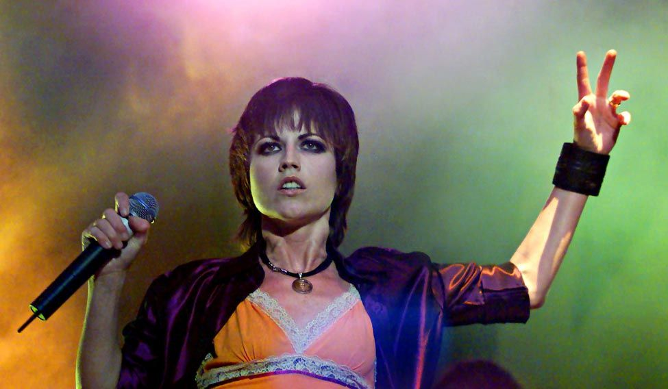 IMG DOLORES O'RIORDAN, Singer of Cranberries