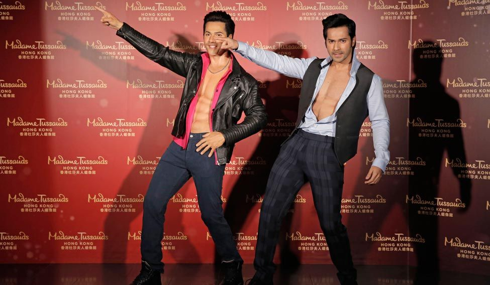 Varun Dhawan wax statue unveiled at Hong Kong Madame Tussauds