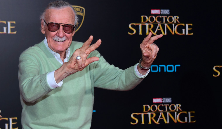 When Stan Lee brought his storytelling to India