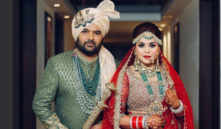Kapil Sharma ties the knot with Ginni Chatrath
