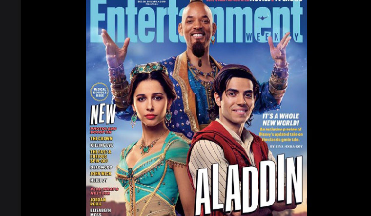 Disney S Aladdin First Look Out Fans Upset Genie S Not Blue