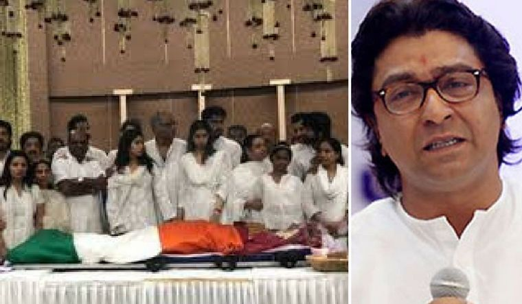 'Why was Sridevi wrapped in tricolour?' Raj Thackeray questions state funeral for actress