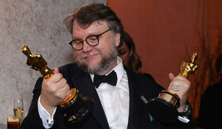 US-OSCARS-AFTERPARTY, del-toro-afp