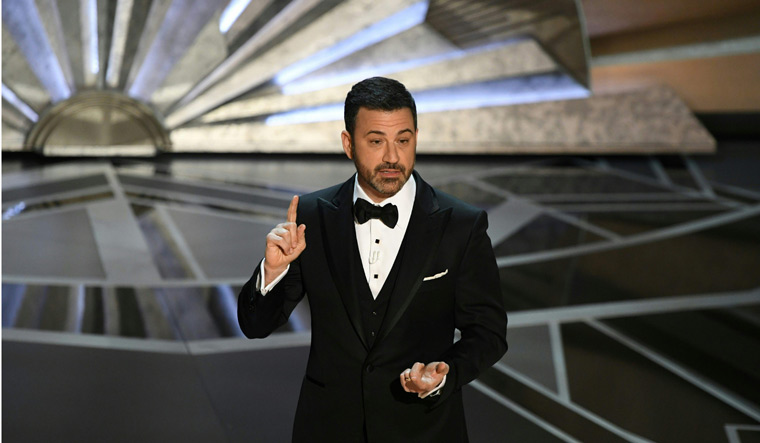 Jimmy Kimmel Fires Back At Donald Trump Over Oscars Tweet