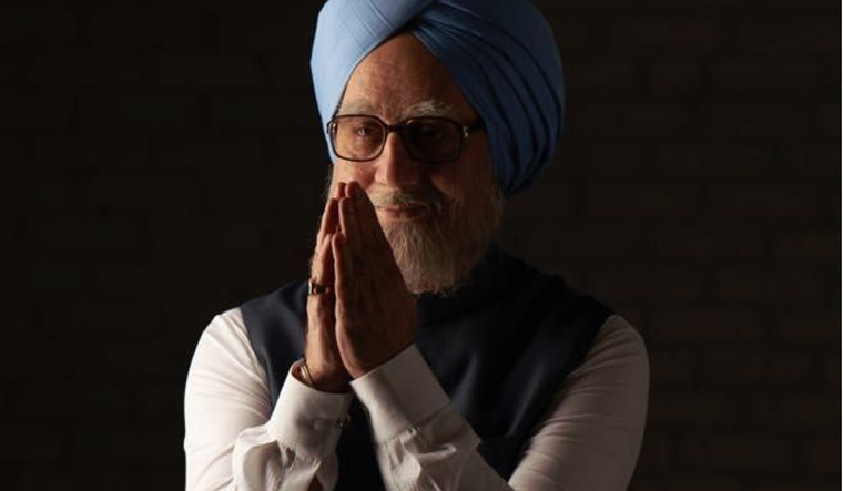 Actor Anupam Kher as former Prime Minister Manmohan Singh in