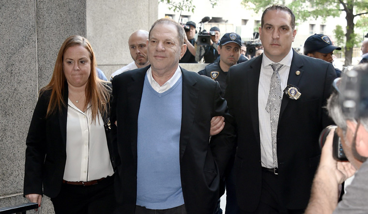Harvey Weinstein released on $ 1mn bail, ordered to wear tracking device