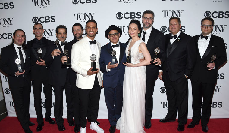 The 72nd Annual Tony Awards - Press Room