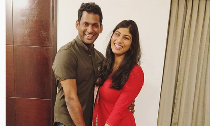Tamil actor Vishal's marriage date fixed - The Week