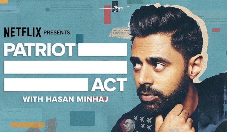 Netflix axes comedian Hasan Minhaj's 'Patriot Act' talk show