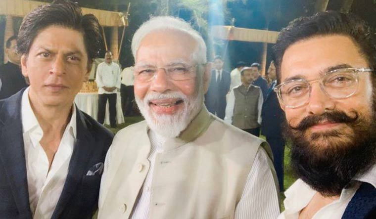 PM Modi meets, Shah Rukh, Aamir, other Bollywood stars, filmmakers