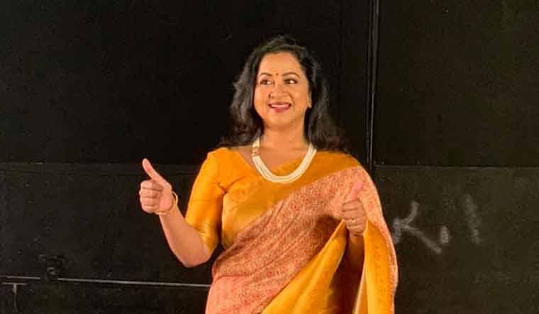 Radikaa Sarathkumar to become first woman to host KBC Tamil