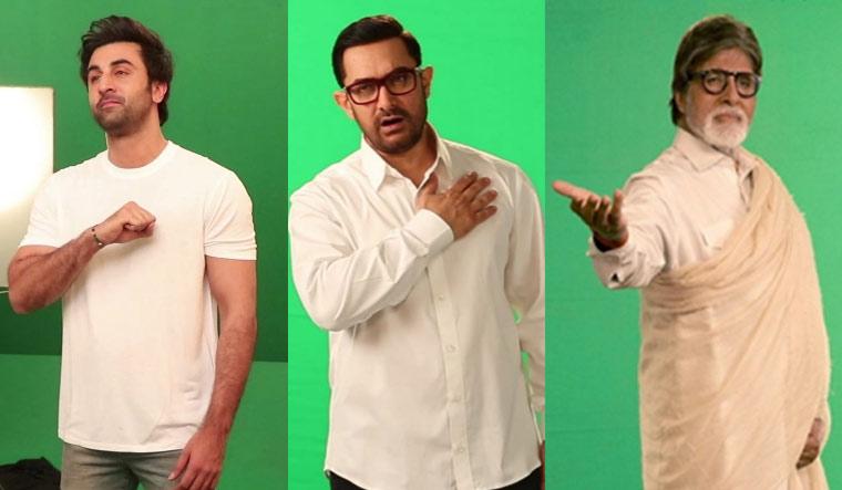 Amitabh Bacchan, Aamir Khan and Ranbir Kapoor film tribute to martyrs