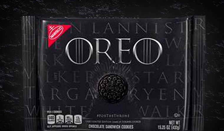 2,750 Oreo cookies re-create Game of Thrones opening credits