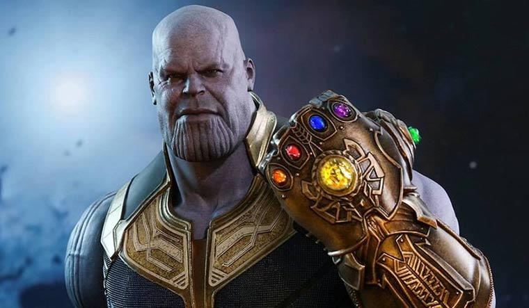 Google 'Thanos', click on the Infinity gauntlet and see what happens