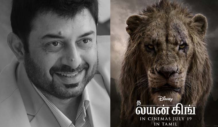 The Lion King: Arvind Swami to voice Scar in Tamil version - The Week
