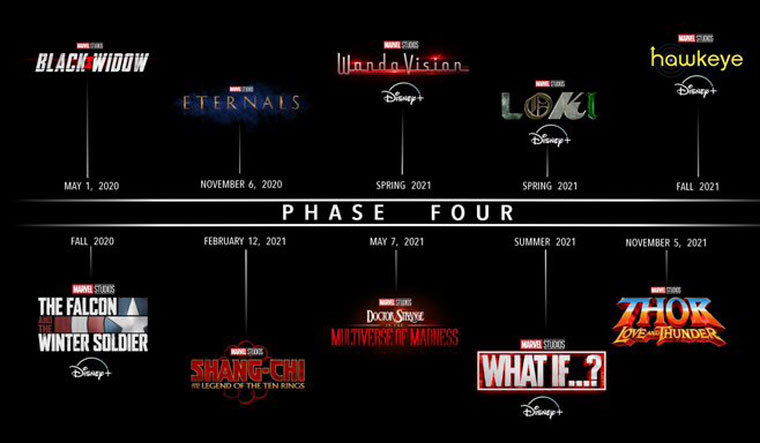 MCU gets bigger and more diverse with Phase 4 -
