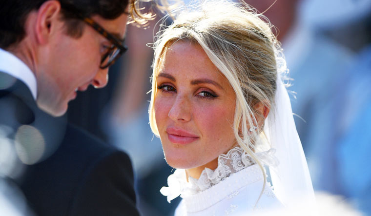 Ellie Goulding's second wedding dress is revealed - and it's just like Meghan's