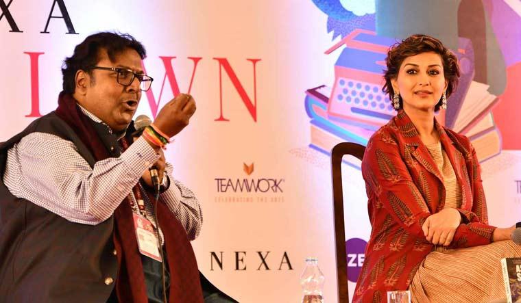 Ashwin-Sanghi-Sonali-Bendre-Jaipur-Literature-Festival-Sanjay