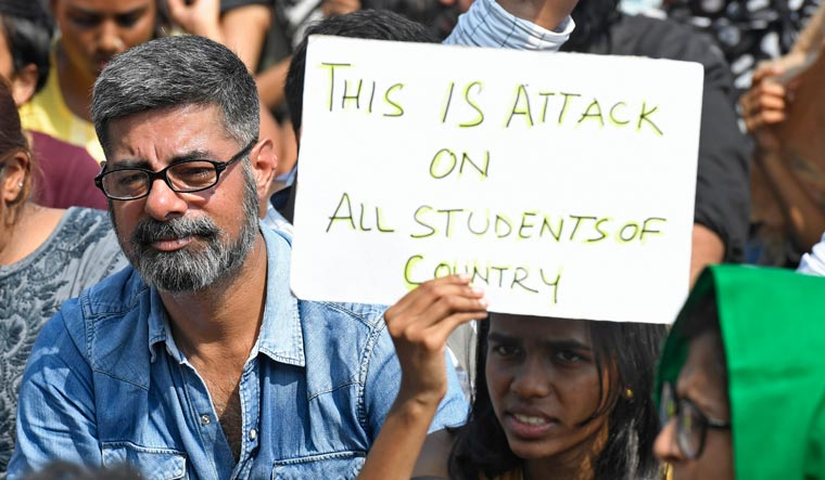 JNU-attack-protest-amey