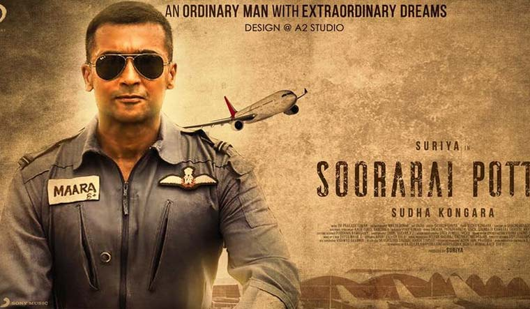 Amazon Prime Video unveils trailer of Suriya's Action Drama Soorarai Pottru
