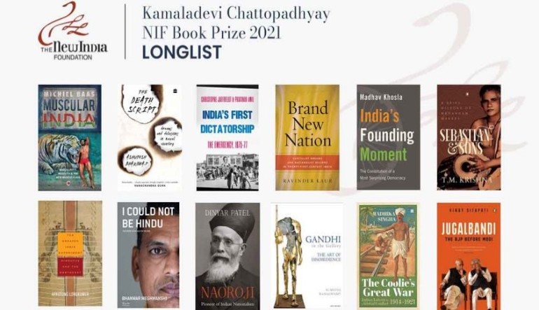 New India Foundation unveils 2021 longlist for non-fiction literary prize
