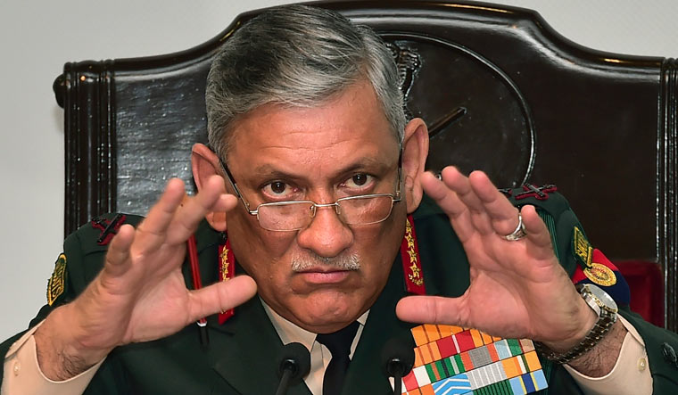 Chief of Defence Staff Gen Bipin Rawat   PTI