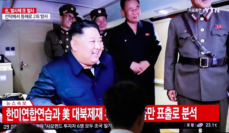 Pyongyang fires 'unidentified projectiles' into Sea of Japan: Seoul