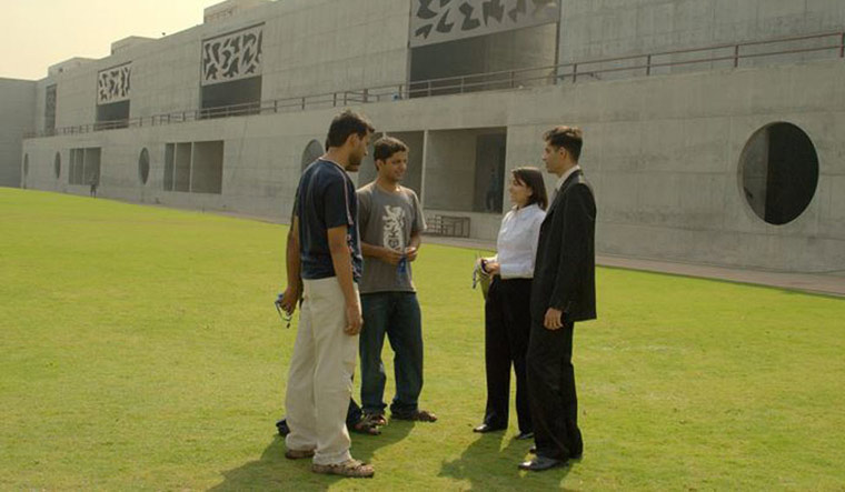 IIM-Ahmedabad campus