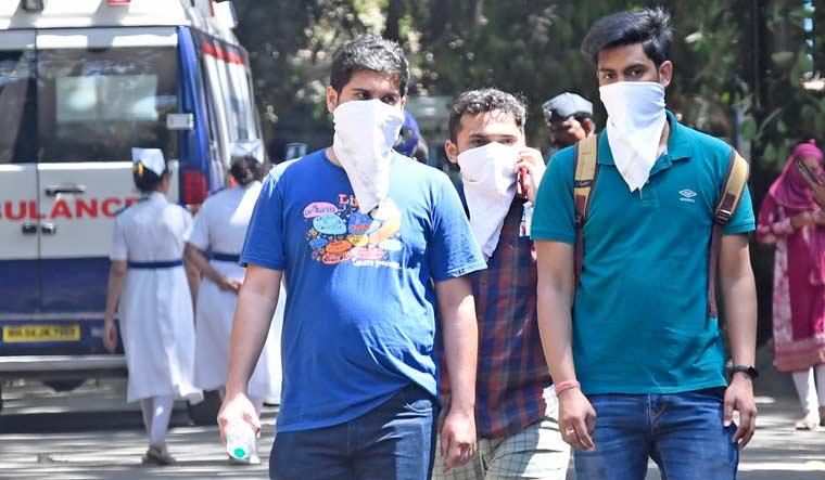 Coronavirus-Outbreak-masks-hospital-ambulance-Mumbai-Amey