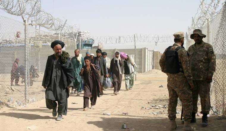 AFGHANISTAN-CONFLICT/PAKISTAN BORDER