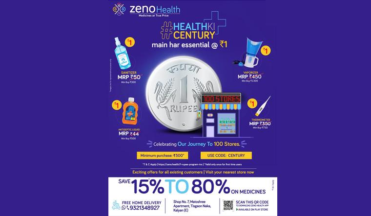 #HealthkiCentury : Zeno Health approaching the 100 stores milestone